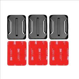 Gopro Base 3pcs Curved Mount Adhesive