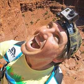 Head Strap Mount Belt for GoPro Go