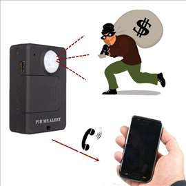 Portable Mini GSM Alarm A9