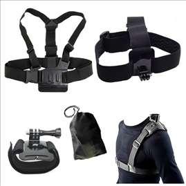 Set Head Chest Belt Wrist Bag Single Strap