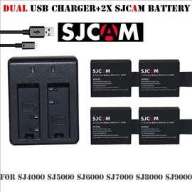 SJ7000-4 Baterije+Punjač Class A