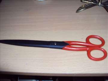 Oštre moćne makaze sa gumiranom drškom-25 cm