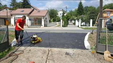 Asfaltiranje manjih i većih površina i asfalt