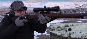 Nosač optike 20 mm za M48/98K umesto zadnjeg nišan