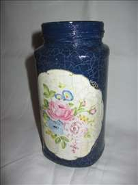 Staklena vaza 2 - ručni rad