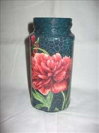 Staklena vaza 3 - Ručni rad