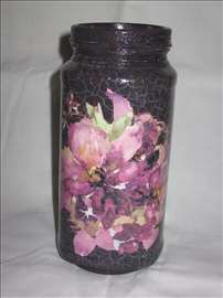 Staklena vaza 4 - Ručni rad