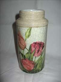 Staklena vaza 5 - Ručni rad