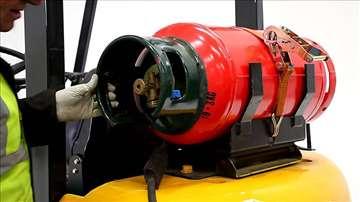 Viljuškar - plinska boca sa sondom