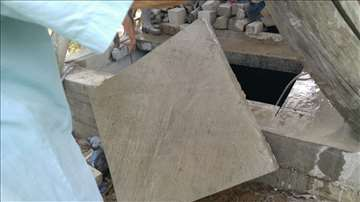 Sečenje betona, rušenje