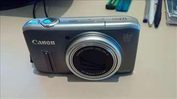 Foto aparat Canon SX 260 HS ekran