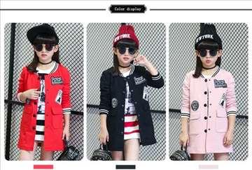 Sportsko elegantna jakna za devojčice od 4-14 god