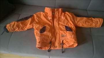 Narandzasta deblja jakna