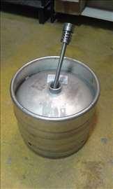 Otvoreno pivsko bure 30l, za rakiju, vino, kotlić