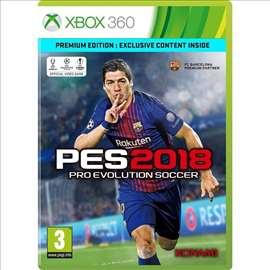 Pro Evolution Soccer 2018 XBOX360