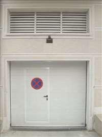 Garažna vrata 3,0 x 2,5m, sa plafonskim motorom