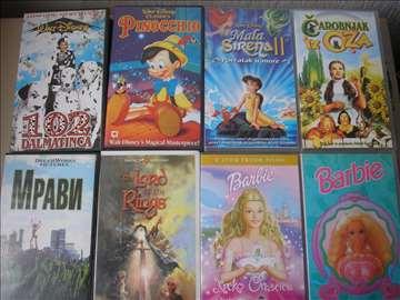 Video kasete-crtani filmovi