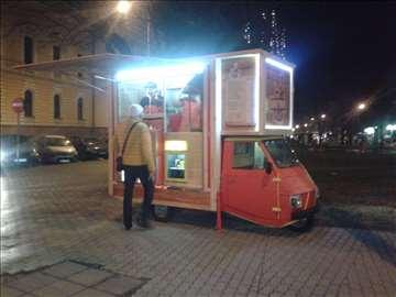 Foodtruck pokretni kiosk za prodaju brze hrane