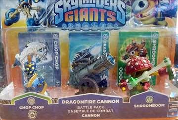 Skylanders Giants Dragonfire Cannon Battle pack