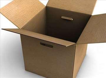 Štancovane kartonske kutije