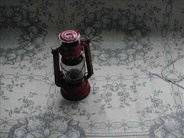 Stara lampa na gas - fenjer