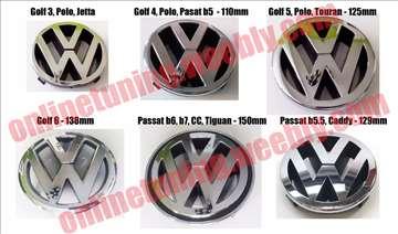 Prednji znak Golf, Polo, Passat - vise modela