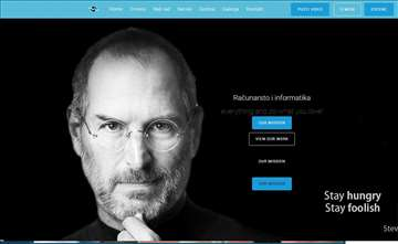 Izrada sajtova i portala, web app, android, iOS