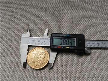 Morgan dolar, pozlaćena replika