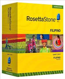 Rosetta Stone - Filipinski- 1, 2 nivoa