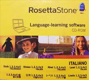 Rosetta Stone - Italijanski - 1, 2, 3, 4, 5 nivoa