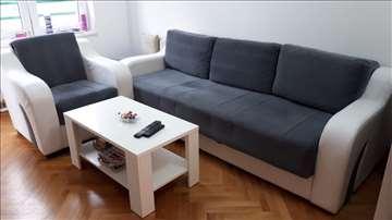 Trosed, fotelja, tabure,klub sto, trpezarijski sto