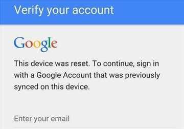 Uklanjanje Google naloga - FRP