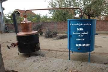 Kazani za destilaciju voća-pečenje rakije