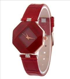 Elegantan crveni ženski sat vrhunskog dizajna