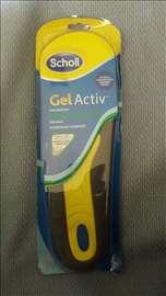 Scholl silikonski ulošci Gel Active za posao muški