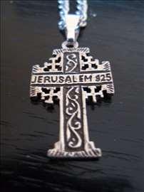 Jerusalimski srebrni krstic