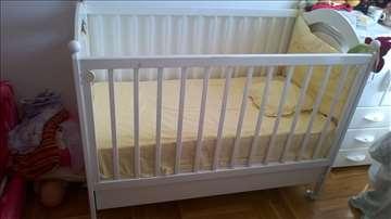 Krevetac za dete sa dušekom