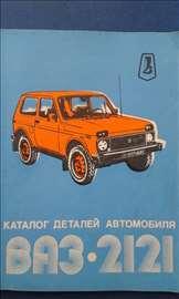 Lada Niva VAZ 2121 katalog delova automobila