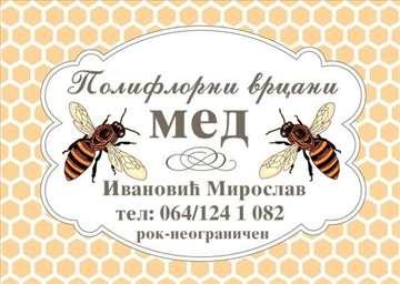 Prodajem med,