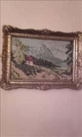 Goblen  Planinski predeo