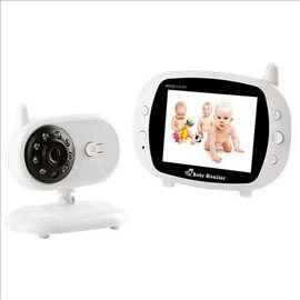 Bebi alarm sa kamerom, baby monitor, 3,5inča, novo
