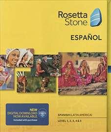 Rosetta Stone - španski jezik, 5 nivoa