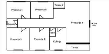 Stan kod Arene, za poslovni prostor + garaža