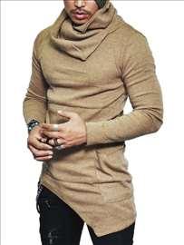 Muški duks, asimetričan džemper L, XL, XXL sl. A