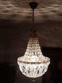 Luxuzan kristalni stilski luster! Retkost