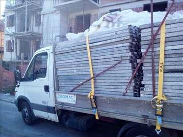 Prevoz građevinskog materijala i selidbe, povoljno