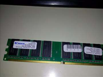 RC memory 1GB DDR3