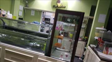 Vitrina za sladoled i vitrine za kolače