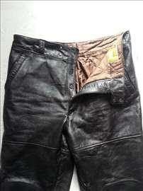 Kozne pantalone za motocikliste