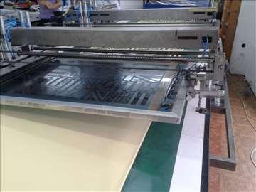 Linijska mašina za štampu tekstila raport 100x80cm